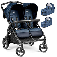 PEG PEREGO BOOK FOR TWO Classico wózek 2w1