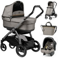 Wózek 3w1 PEG PEREGO BOOK PLUS S POP-UP COMPLETO MODULAR + fotelik