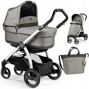 PEG PEREGO BOOK S POP-UP COMPLETO wózek głęboko-spacerowy + torba
