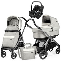 Wózek 3w1 Peg Perego BOOK S POP UP + fotelik Maxi Cosi PEBBLE PRO
