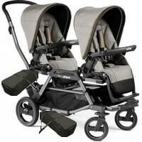Bliźniaczy wózek 2w1 dla noworodków PEG PEREGO DUETTE PIROET