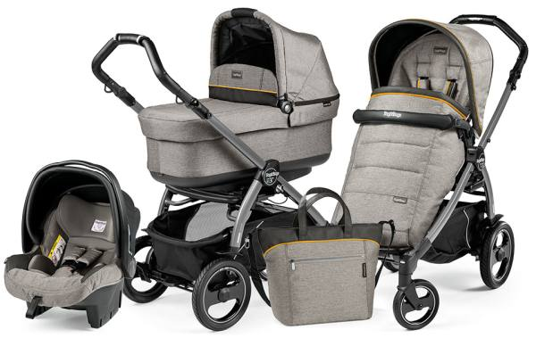 Wózek głęboko-spacerowy PEG PEREGO BOOK PLUS S POP-UP COMPLETO MODULAR + fotelik 1