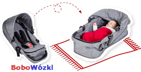 Wózek spacerowy PHIL&TEDS VOYAGER + fotelik Maxi Cosi CITI 4