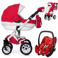Wózek 3w1 RIKO BRANO ECCO + fotelik Maxi Cosi PEBBLE PRO