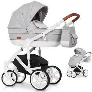 Wózek dziecięcy 2w1 RIKO NATURO + torba