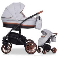 Wózek dziecięcy 2w1 RIKO PIANO + torba