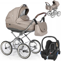 Wózek 3w1 ROAN EMMA + fotelik Maxi Cosi CABRIO FIX