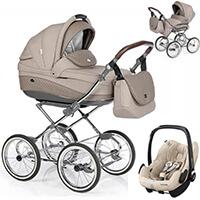Wózek 3w1 ROAN EMMA + fotelik Maxi Cosi PEBBLE PRO
