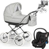 Wózek 3w1 ROAN MARITA PRESTIGE + fotelik Maxi Cosi CITI