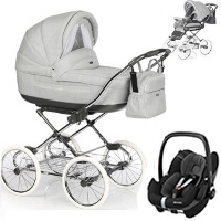 Wózek 3w1 ROAN MARITA PRESTIGE + fotelik Maxi Cosi PEBBLE PRO