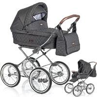 Wózek dziecięcy 2w1 ROAN SOFIA  + torba