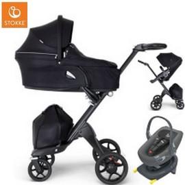 Wózek dziecięcy 3w1 STOKKE XPLORY V6 + fotelik Swandoo ALBERT i-Size