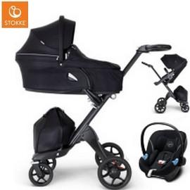 Wózek dziecięcy 3w1 STOKKE XPLORY V6 + fotelik Cybex ATON M i-Size