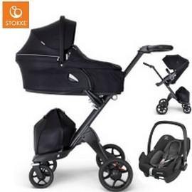 Wózek dziecięcy 3w1 STOKKE XPLORY V6 + fotelik Maxi Cosi ROCK