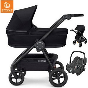 STOKKE BEAT wózek 3w1 z fotelikiem Maxi Cosi ROCK