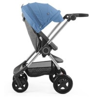 Wózek spacerowy STOKKE SCOOT BLACK MELANGE