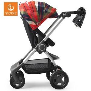 Wózek STOKKE SCOOT | Flannel Red | Winter Kit