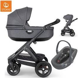 Wózek dziecięcy 2w1 STOKKE TRAILZ + fotelik Swandoo ALBERT i-Size