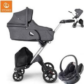 Wózek dziecięcy 3w1 STOKKE XPLORY V6 + fotelik BeSafe iZi GO MODULAR I-SIZE