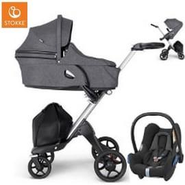 Wózek dziecięcy 3w1 STOKKE XPLORY V6 + fotelik Maxi Cosi CABRIO FIX