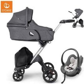 Wózek dziecięcy 3w1 STOKKE XPLORY V6 + fotelik iZi GO MODULAR by BESAFE