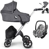 Wózek dziecięcy 3w1 STOKKE XPLORY V6 + fotelik Maxi Cosi PEBBLE PRO