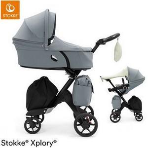 STOKKE XPLORY V6 wózek 2w1   Balance Blue