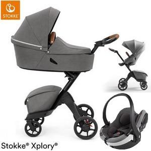 STOKKE XPLORY X wózek 3w1 z fotelikiem iZi GO MODULAR