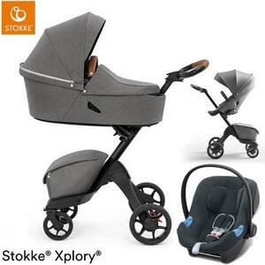 STOKKE XPLORY X wózek 3w1 z fotelikiem Cybex ATON B