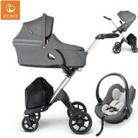 Wózek dziecięcy 3w1 STOKKE XPLORY ATHLEISURE V6 + fotelik iZi GO MODULAR BY BESAFE