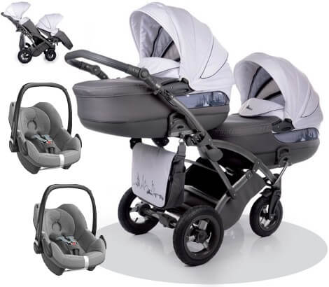 City Move Duo Tako z fotelikami Maxi Cosi PEBBLE