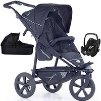Wózek 3w1 TFK JOGGSTER TRAIL 2 + fotelik Maxi Cosi PEBBLE PRO