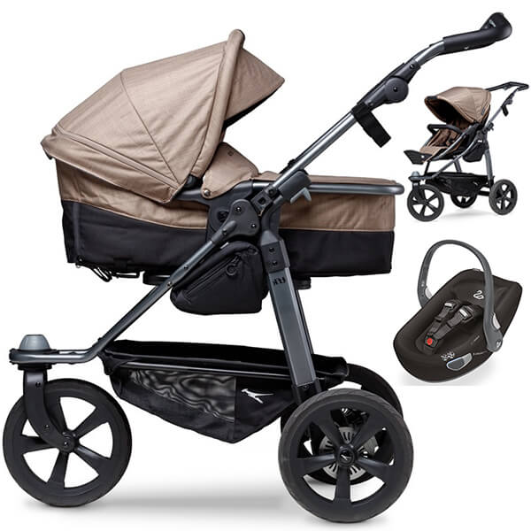 Wózek 3w1 TFK MONO COMBI + fotelik Swandoo ALBERT LITE