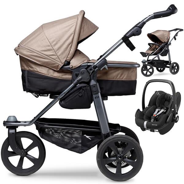 TFK MONO COMBI wózek 3w1 z fotelikiem MAXI COSI PEBBLE PRO
