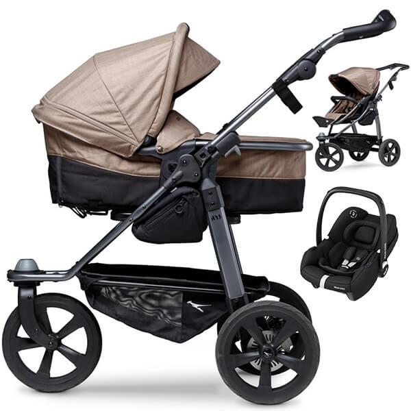 TFK MONO COMBI wózek 3w1 z fotelikiem MAXI COSI TINCA