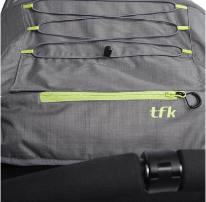 TFK TWIN ADVENTURE + 2 foteliki Cybex Cloud Q 7