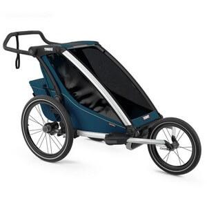 Wózek do biegania THULE CHARIOT CROSS 1 + przyczepka rowerowa dla dziecka