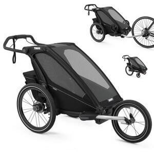 Wózek do biegania THULE CHARIOT SPORT 1 + przyczepka rowerowa