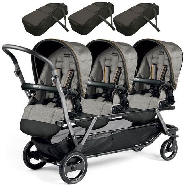 Wózki Trojacze Triplette SW  spacerowe