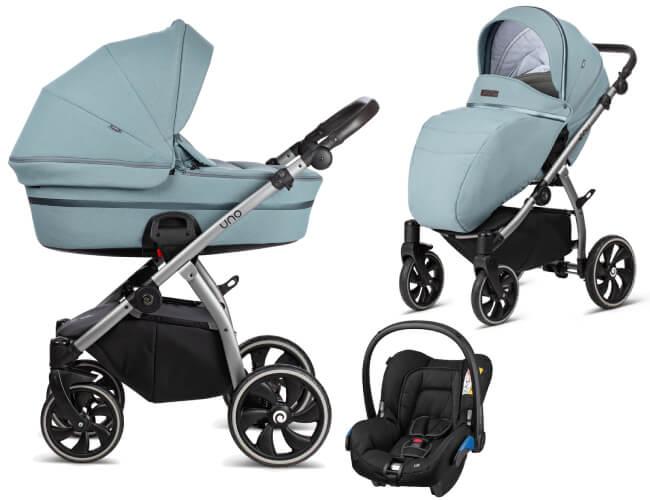 Wózek 3w1 Tutis UNO + fotelik Maxi Cosi CITI 1