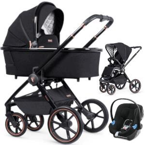 VENICCI TINUM SE wózek 3w1 I Cybex ATON B i-Size