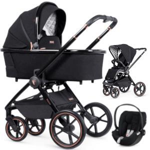 VENICCI TINUM SE wózek 3w1 I Cybex CLOUD Z i-Size