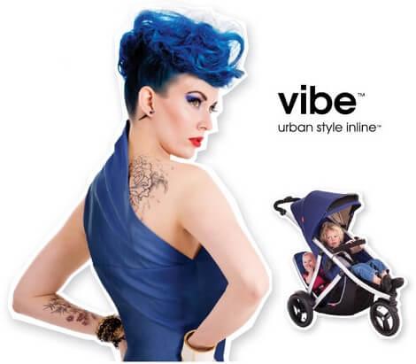 Wózek Vibe z siedziskiem