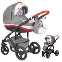 Wózek dziecięcy 2w1 ADAMEX VICCO + torba
