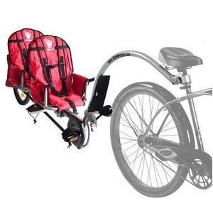 Przyczepka rowerowa  WEEHOO I-GO 2 dla dwójki dzieci