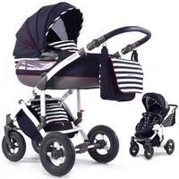 Wózek dziecięcy 2w1 TAKO CITY MOVE Marine + torba, moskitiera, folia