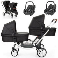 ABC DESIGN ZOOM w�zek g��boko-spacerowy + 2 foteliki Maxi Cosi PEBBLE