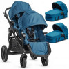 BABY JOGGER CITY SELECT DOUBLE wózek 3w1 z MAXI COSI PEBBLE PRO Teal