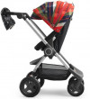 Wózek STOKKE SCOOT | Flannel Red | Winter Kit Black