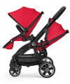 KIDDY EVOSTAR 1 podwójny wózek spacerowy Chili Red